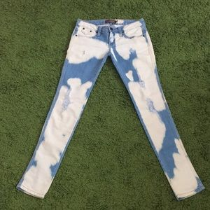 RARE Frankie B. Acid Washed Spotted Jeans